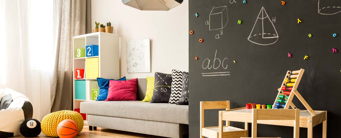 kinderzimmer beleuchtung tipps tricks. Black Bedroom Furniture Sets. Home Design Ideas